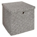 patrón de papel de cesta plegable 34x34, 2- veces