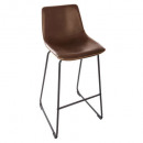stool bar pu brown laws, brown