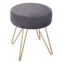 metal stool m1920 gray, dark gray