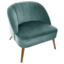 green naova armchair, green