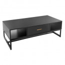 coffee table 1 drawer tedy, black