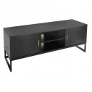 low furniture 2p tedy, black