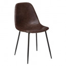chair pu metmarron vladi, brown