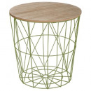 cafe table metal green kumi mm, green