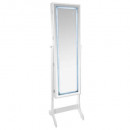 jewelry cabinet led white gm, white