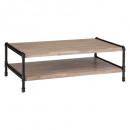 2 mesas siam, mesa baja, marrón