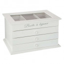wholesale Jewelry & Watches: jewelry box 3 shot white, white