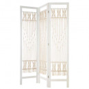 screen macrame ete, white