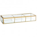 box glass rectangle dolce, champagne