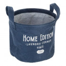 basket round pm collect, dark blue