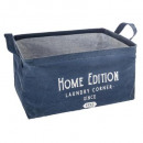basket rectangle collect, dark blue