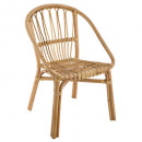 natural rattan armchair dream, beige