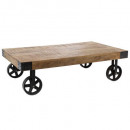 table basse collect silas, noir