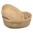basket seagr plate ocean x2, sand