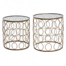 metal table archi x2, gold