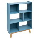 estantes 3p azul elva, azul