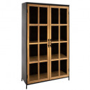 wholesale Business Equipment: showcase biblio 2p baris, black