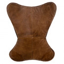 dario leather cover cognac, cognac