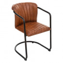 wholesale Other: cognac kavi leather armchair, cognac
