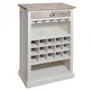 mueble bar 1 cajones aleria, blanco