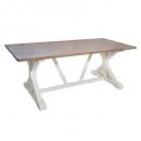 mesa de comedor 200x100 aleria, blanco