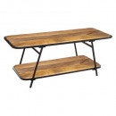table basse kalida, marron