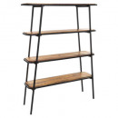 etagere 4 etages kalida, marron