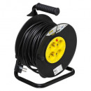 extension cord 25m, black