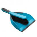 cepillo de la pala el brillante, azul