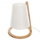 bamboo lamp + abj plast h26, white