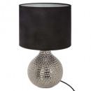 lampada in ceramica hammele drop h38, nero