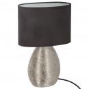 wholesale Lampes: ceramics lamp streak drop h32, black