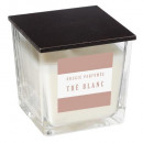 white scented candle 180g, white