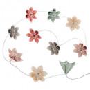 mayorista Baterias y pilas: girlande pila 10led flor en colores pastel, ...