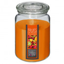 scented candle vr fr exo 510g, orange