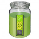 scented candle vr apple 510g, green