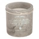 bougie parfumées ciment vent 220g, 2-fois assorti,