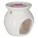 wholesale Fragrance Lamps: scented burnt + pink wax 30g, light pink