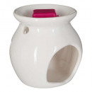 wholesale Fragrance Lamps: scented burnt + raspberry wax 30g, dark pink