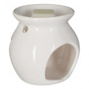 wholesale Fragrance Lamps: scented burner + jasmine wax 30g, white