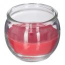 vela perfumada vr fr rou 85g, rojo