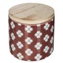 świeca zapachowa ceramiczna etnik 325g, 4-krotnie
