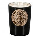 bougie parfumées coton 160g, noir
