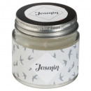 scented candle vr jasmin 65g, light gray