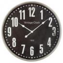 Reloj de metal d67, negro