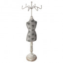 mannequin wears jewelry wind, 3- times assorted ,