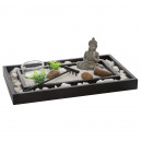 zen garden round pebble 24x15, multicolored