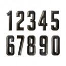 Kennzeichen 21x8,5, 10fach fach sortiert , gri