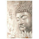 pei painting Buddha 78x118, multicolored