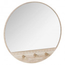 patere x3 + miroir, multicolore
